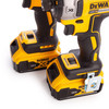 Buy Dewalt DCK2088P2T 18V XR Twin Pack - DCF899 Impact Wrench + DCF887 Impact Driver (2 x 5.0Ah Batteries) at Toolstop