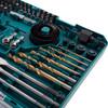 Makita P-90641 Drill Bit & Saw Set (75 Piece) - 1