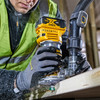 Dewalt DCW604NT 18V XR Brushless Router 1/4in / 8mm with Extra Base (Body Only) - 3