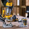 Dewalt DCW604NT 18V XR Brushless Router 1/4in / 8mm with Extra Base (Body Only) - 6