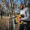Dewalt DCFS950P2 18V XR Brushless Fencing Stapler (2 x 5.0Ah Batteries) - 2