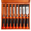 Bahco 434-S8-EUR ERGO Splitproof Chisel Set 8 Piece in Wooden Box - 2