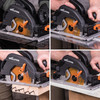 Evolution R185CCSX+ TCT Multi-Material Circular Saw 185mm 110V - 12