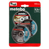 Metabo 626879000 Cutting Disc Starter Set 76mm (Pack Of 3) - 1