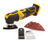 JCB 18V 5 Piece Kit, Combi Drill, Impact Driver, Circular Saw, Multi-Tool, Lamp, (2 x 5.0Ah Batteries), Charger and Large Kitbag - 4