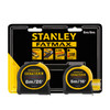 Stanley FMHT81745-0 FatMax Classic Tape Measure Twin Pack 5m & 8m - 2