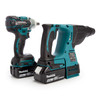 Makita DLX2268TJ 18V LXT Brushless Twin Pack - DTW285Z Impact Wrench + DHR242Z Rotary Hammer (2 x 5.0Ah Batteries) - 3