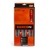 Bahco B220.005 VDE Insulated Screwdriver Set Slotted/Phillips 1000V (5 Piece) - 1