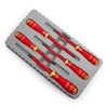 Bahco B220.005 VDE Insulated Screwdriver Set Slotted/Phillips 1000V (5 Piece) - 2