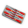Buy Bahco B220.015 VDE Insulated Screwdriver Set Slotted/Pozidriv 1000V (5 Piece) at Toolstop