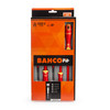 Bahco B220.015 VDE Insulated Screwdriver Set Slotted/Pozidriv 1000V (5 Piece) - 1