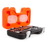 """Bahco S160 Socket Set with Metric Hex Profile and Ratchet 1/4"""" Square Drive (16 Piece) - 3"""