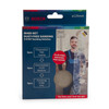 Bosch 06159975WV M480 3 Step Sanding Solution Pack 125mm (Pack Of 15 + Backing Pad) - 1