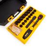 Stanley FMHT0-74716 FatMax ToughBox Socket Set 1/2in Drive (17 Piece)