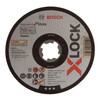 Bosch 2608619262 X-LOCK Standard for Inox Cutting Discs 125mm (Pack Of 25) - 1