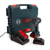 Buy Bosch GSB 18V-55 Professional Brushless Combi Drill (3 x 4.0Ah ProCORE Batteries) at Toolstop