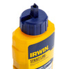Buy Irwin Strait-Line 64901 Standard Marking Chalk Refill in Blue 8oz / 227g at Toolstop