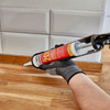 Everbuild 200BK Everflex 200 Contractors LMA Silicone Black 295ml 2