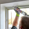 Everbuild 335TOF Everflex 335 Construction Silicone Toffee 295ml 2