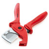 Knipex 9025185SB Pipe Cutter for Plastic Composite Pipes 12 - 25mm