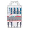 Bosch 2608590181 HEX-9 MultiConstruction Drill Bit Set 5.5mm - 8mm (Pack Of 5) 2