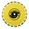 Sealey WDHFS350 Floor Saw Blade (Hard) 350 x 25mm