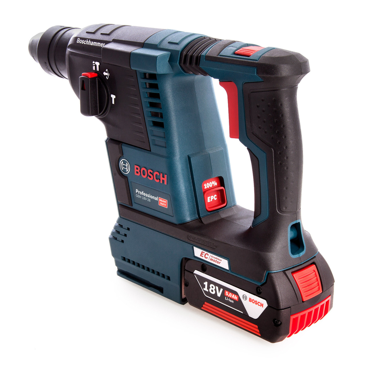 18V rechargeable brushless cordless rotary hammer drill