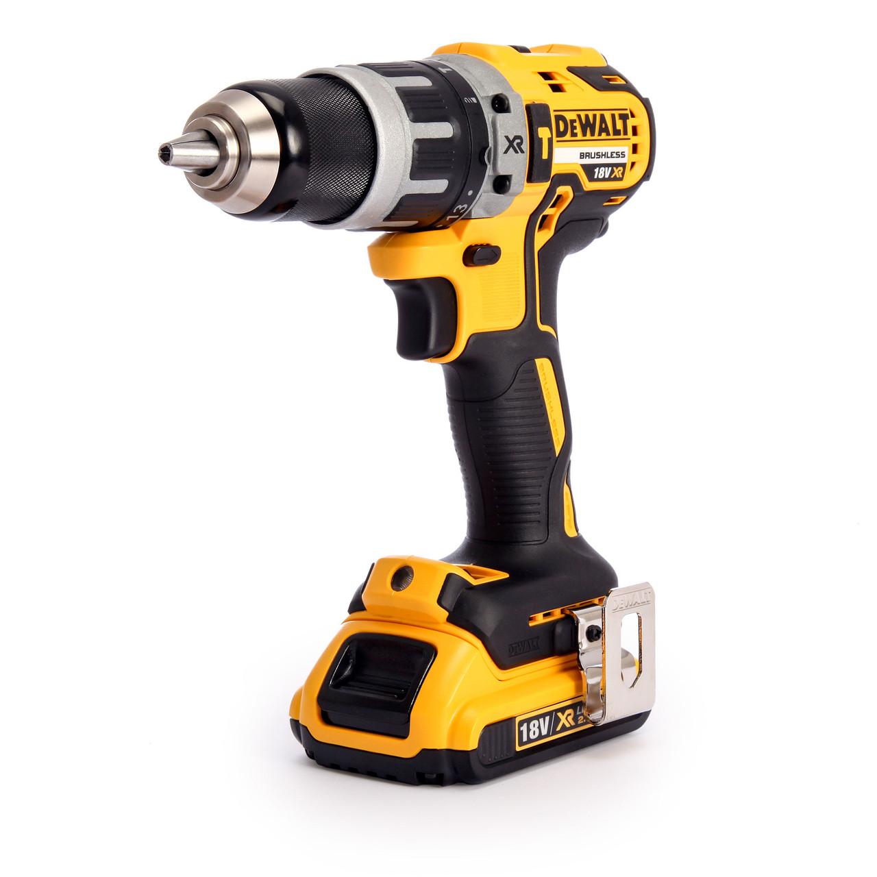 DeWalt DCD796P2 18V BRUSHLESS Combi Drill 2x 5.0Ah XR Li