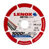 Lenox 2030865 MetalMax Diamond Cut Off Wheel 115mm x 1.3mm x 22.23mm - 2