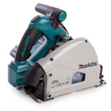 Makita DSP600 Twin 18V Plunge Saw with DC18RC Charger in Makpac Case (2 x 3.0Ah Batteries) - 2