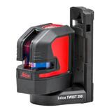 Leica 848435 Lino L2 Red Cross Line Laser with Twist 250 Starter Kit - 25 Metre Range - 9