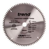 Trend CSB/CC30578T CraftPro Saw Blade Crosscut 305mm x 30mm x 78T - 2