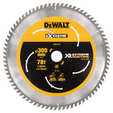 Dewalt DT99576 XR Extreme Runtime Mitre Saw Blade 305mm x 30mm x 78T - 1