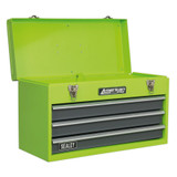 Buy Sealey AP9243BBHV Tool Chest 3 Drawer Portable With Ball Bearing Runners - Hi-Vis Green at Toolstop