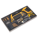 Buy Siegen S01133 Tool Tray With Cutting & Drilling Set 28pc at Toolstop