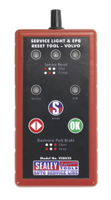 Buy Sealey VS8625 Service Light & Epb Reset Tool - Volvo at Toolstop