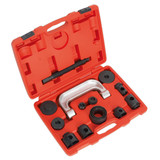 Buy Sealey VS1274 Lower Ball Joint Remover/Installer 14pc Mercedes, Renault at Toolstop
