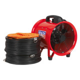 Buy Sealey VEN250 Portable Ventilator ∅250mm With 5mtr Ducting at Toolstop