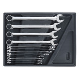 Buy Sealey TBT37 Tool Tray With Combination Spanner Set 12pc - Metric at Toolstop