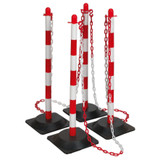Buy Sealey RWPKIT Red/White Post & Chain Kit 6 Metre at Toolstop