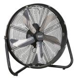 """Buy Sealey HVF20 Industrial High Velocity Floor Fan 20"""" 240V at Toolstop"""