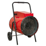 Buy Sealey EH30001 Industrial Fan Heater 30kw 415V 3ph at Toolstop
