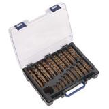 Buy Sealey DBS170CB HSS Cobalt Fully Ground Drill Bit Assortment 1 - 10mm (170 Piece) at Toolstop