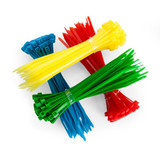 Sealey CT200 Cable Ties 2.5 x 100mm Pack Of 200 (4 Colours) - 1