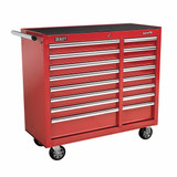 Buy Sealey AP41169 Rollcab 16 Drawer With Ball Bearing Runners Heavy-Duty - Red at Toolstop