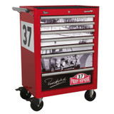Buy Sealey AP26479TPH Rollcab 7 Drawer Paddy Hopkirk Limited Edition at Toolstop