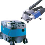Buy PDP PC150 + PV25 - 150mm (6in) Diamond Wall Chaser + Wet/Dry Vacuum Dust Extractor 110V at Toolstop