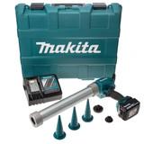 Makita DCG180RMB 18V Cordless li-ion Caulking Gun in Carry Case (1 x 4Ah Battery) - 3