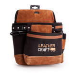 Leather Craft LC203 Single Pouch With 2 Large Pockets - 3