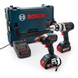 Bosch GSB18VE2Li + GDX18VEC 18V Cordless Package in L-Boxx (2 x 5.0Ah Batteries) - 5